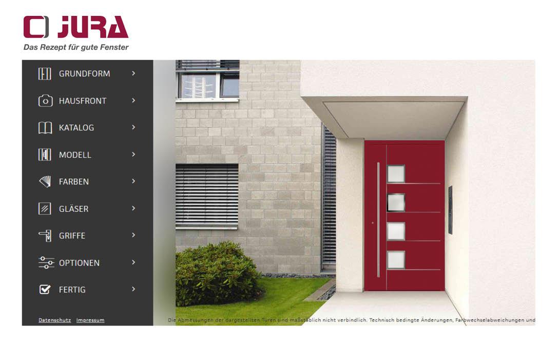Haustürkonfigurator unseres Partners Rodenberg